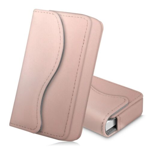 Business Name ID Credit Card Holder Wallet Pocket Case Organizer Handmade
