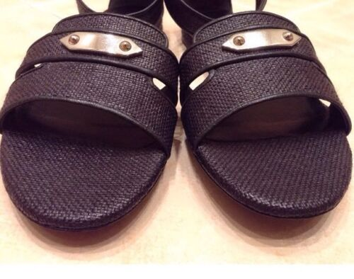6 Black Shoes £425 Eu Uk Balenciaga Rrp 39 Leather Sandals t0w7FqBU