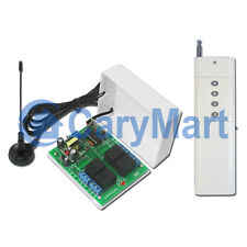 2000M 4CH RF Wireless Remote Control with External Antenna 4 Modes AC 120V/220V