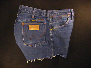 broek 31 pants gemeten W getailleerde afgesneden Wrangler Cutoff hot hoog Vintage Jean wqZZpfU