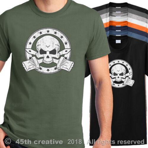 Painter Skull T Shirt pro painters skull crossbones shirt house painting shirt