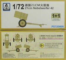 21cm Nebelwerfer, 1/72, S-Model , Doppelpack, Plastk, NEU,