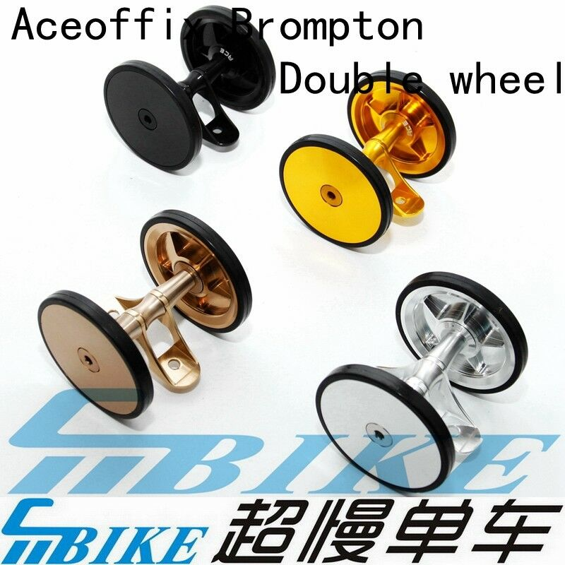 ACE Double Mudguard Fender Disc Style Wheels Rollers for Brompton  Bicycle  70% off