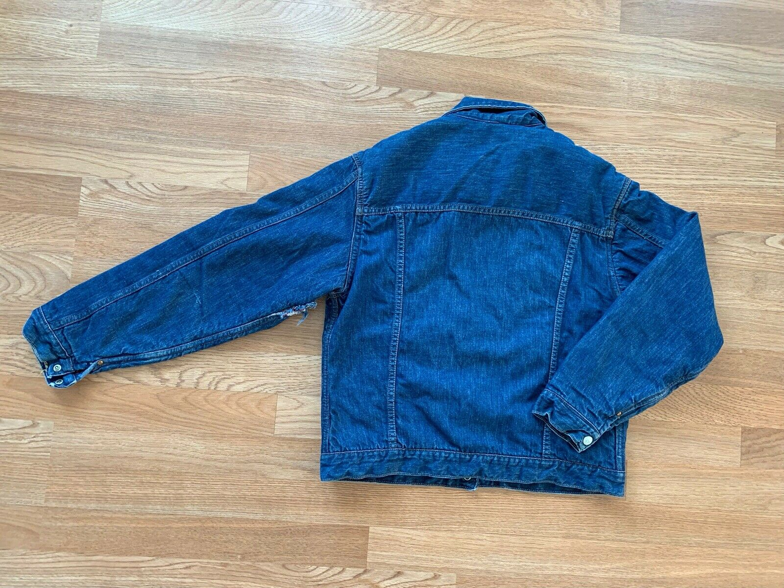 Vintage 1960's Foremost Denim Jacket Lined  Small… - image 5