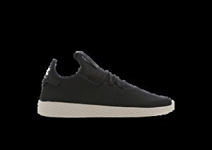 adidas-Pharrell-Hu-UK-Size-8-Men-039-s-Trainers-Black-White-Originals