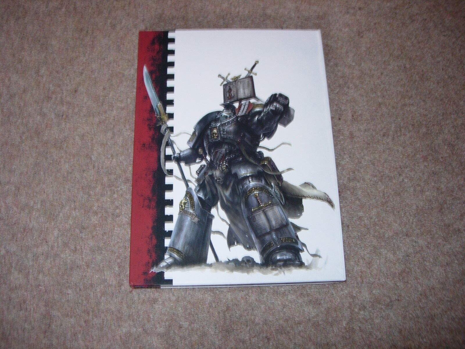 Warhammer 40K Grey Knights Space Marines Limited Collectors Edition Codex