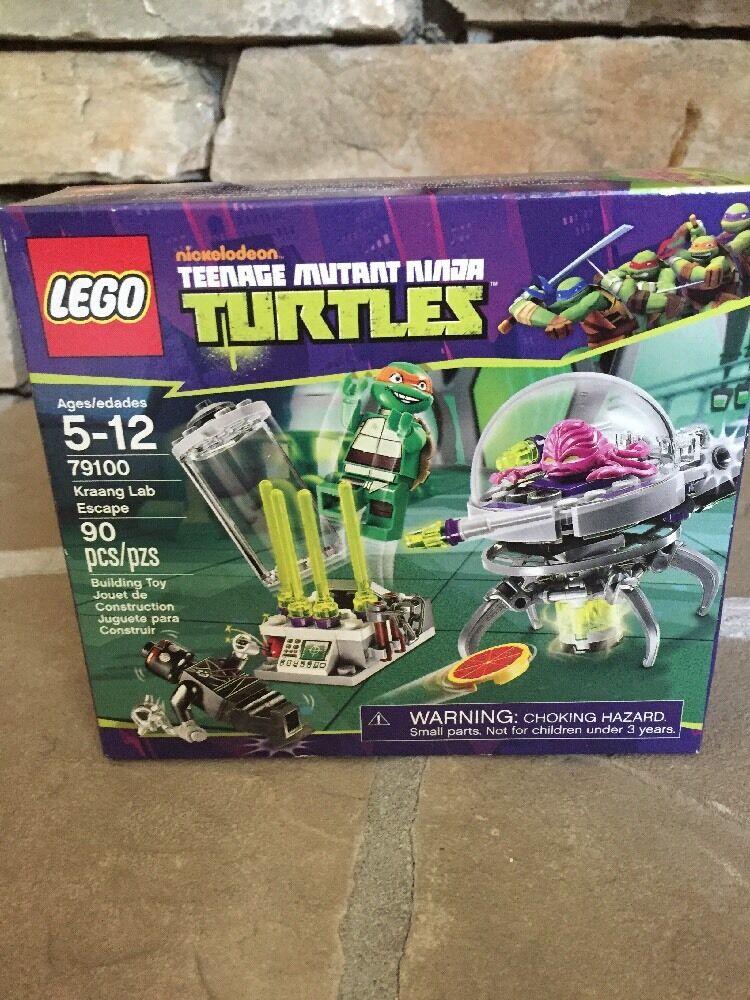 alla moda LEGO Teenage Teenage Teenage Mutant Ninja Turtles Kraang Lab Escape (79100)  risparmia il 60% di sconto