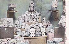 MEXICO - Museo Nacional - Colecion de idolos Aztecas