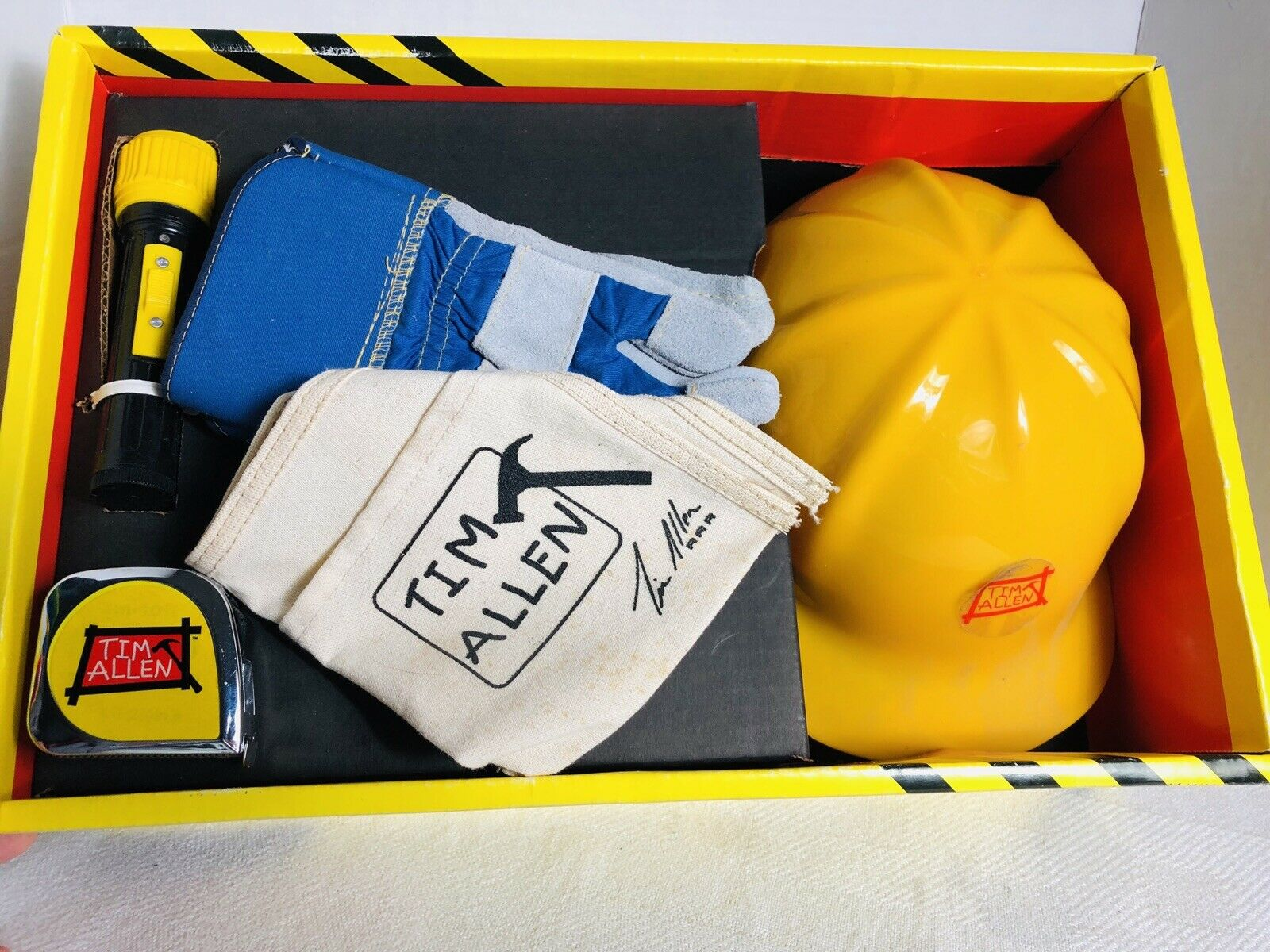 TIM ALLEN - TIM'S LITTLE HELPER Home Improvement Play set Toys 1990s  TOOLS