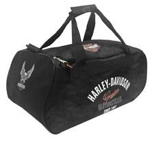 Harley-Davidson Tail of The Dragon Collection Sports Black Duffel Bag 99418