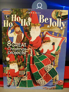 Ho Ho Ho Be Jolly Crochet Pattern Hobby Lobby Santa Doll Pillow