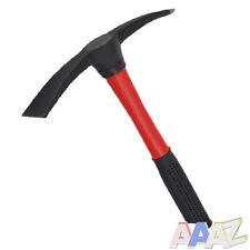 Mini Mattock 500gr Fibreglass Handle Shaft Pick Axe Pickaxe Garden Farm Tool