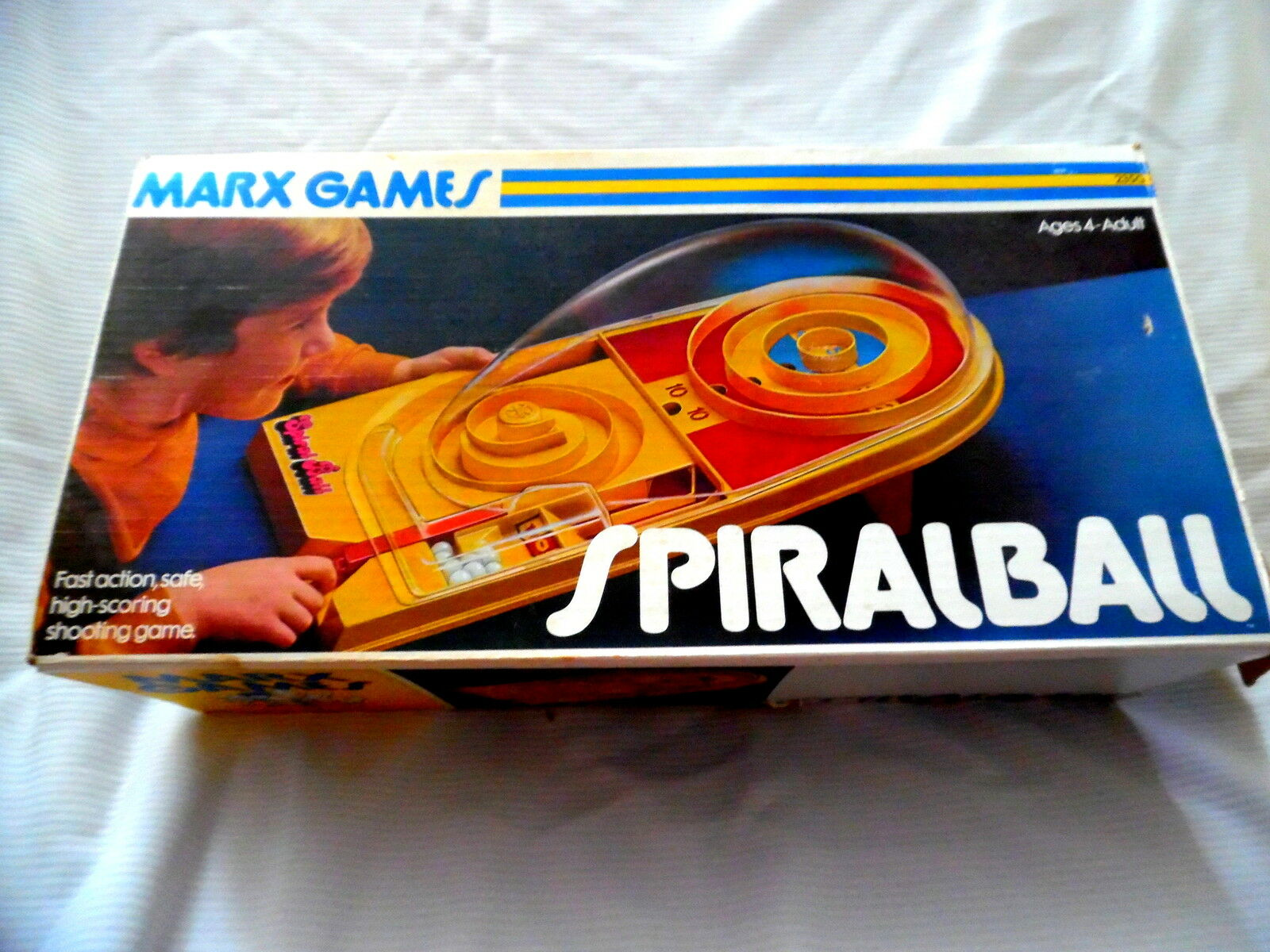 Vintage SPIRALBALL Game by Marx Toys 1975 COMPLETE VERY RARE