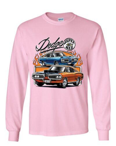Dodge Super Bee  Long Sleeve T-Shirt American Classic Muscle Car Tee