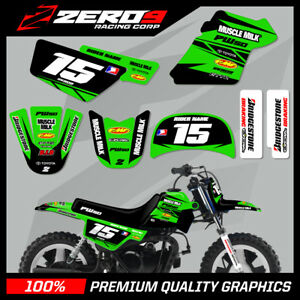 YAMAHA-PW50-MOTOCROSS-MX-GRAPHICS-DECAL-KIT-MUSCLE-MILK-BLACK-GREEN