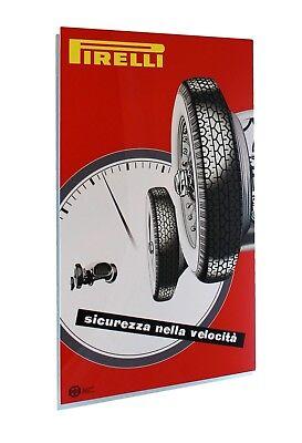 Pirelli Competizioni Italian Metal Sign