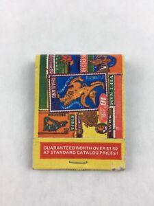 Vintage-Oriental-Stamps-Promotional-Mail-in-Matchbook-Complete