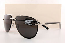 Brand New MONT BLANC Sunglasses MB 596S 596 16A Silver/Gray for Men