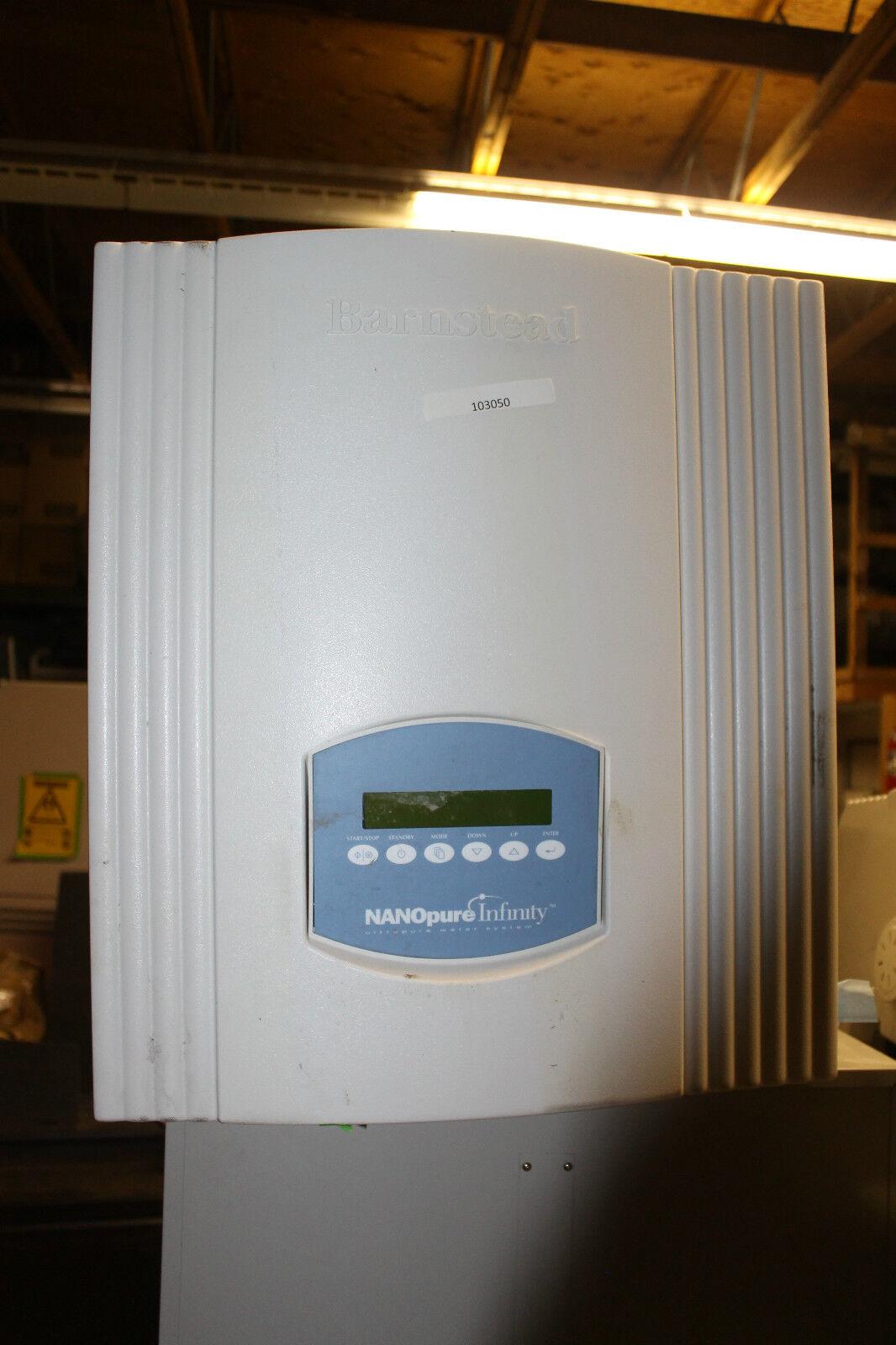 BARNSTEAD NANOPURE INFINITY ULTRAPURE D8961 Purificateur