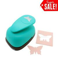 3inch X-large Butterfly Shape Paper Craft Lever Punch Scrapbooking Cards