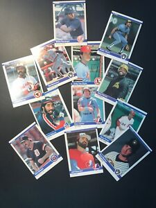 1984-Fleer-Baseball-lot-of-12-Stars-From-The-80-s-Yount-Murray-Gibson-Etc