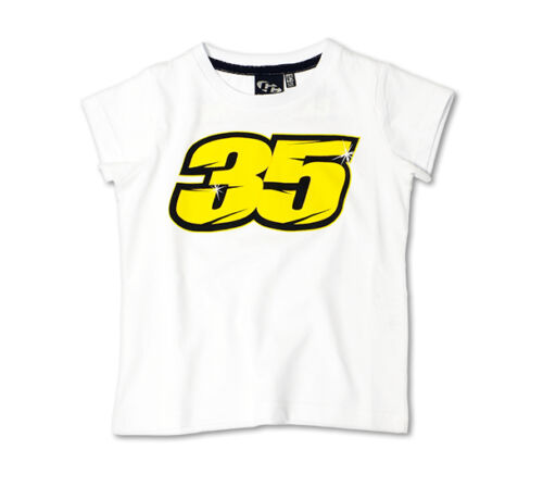New Official Cal Crutchlow 35 White Kids TShirt