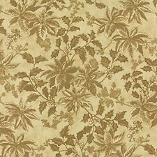 """Moda 3 Sisters Winterlude Parchment 108"""" Wide Quilt Backing Fabric By The Yard"""