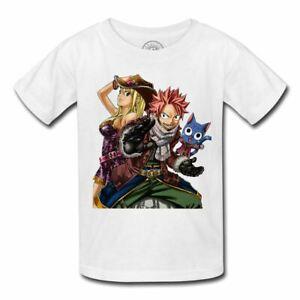 Fabulous T-Shirt Enfant Natsu Dragneel Fairy Tail Manga Sorcier feu