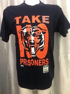 USA-vtg-1993-034-TAKE-NO-PRISNERS-034-CHICAGO-BEARS-NFL-Football-MAJESTIC-T-Shirt-L-44