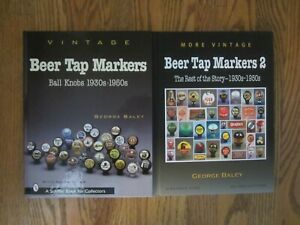 Vintage-Beer-Tap-Markers-Vol-1-amp-2-Direct-from-Author-FREE-SHIPPING