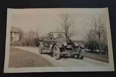 Vintage Car Photo Dog w/ 1920 ReVere Touring Duesenberg Free ...