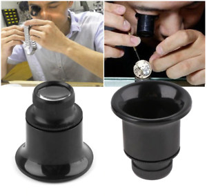 Lente di ingrandimento 20X monocolo orologi orologiaio orefice miniature