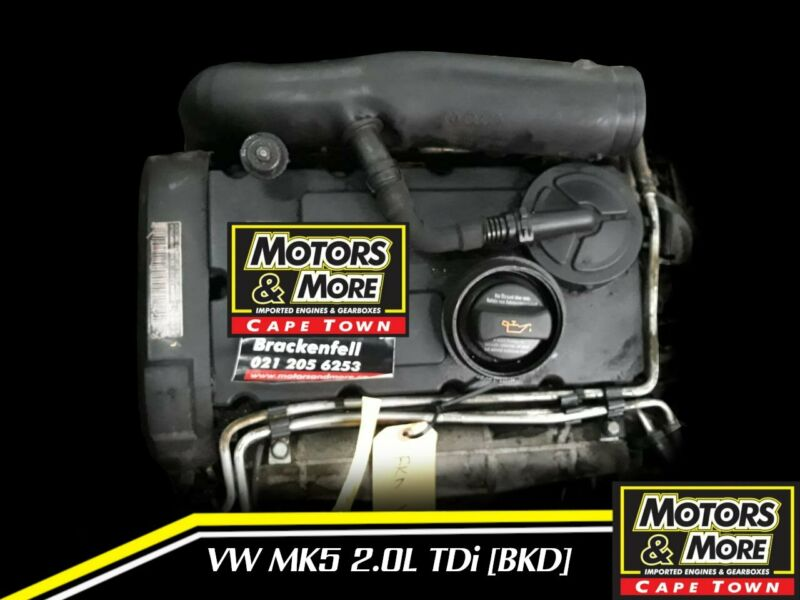 VW Golf 5 BKD 2.0TDi  Engine For Sale No Trade in Needed