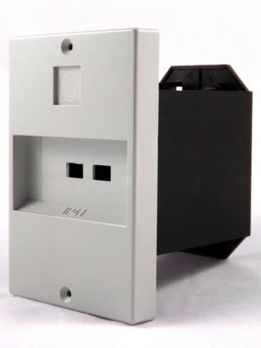 Isolierstoff Frontplatten für ABL Motorschutzschalter Leergehäuse