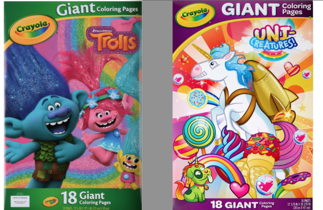 Crayola - Frozen Giant Coloring Pages | PlayOne | 416x640