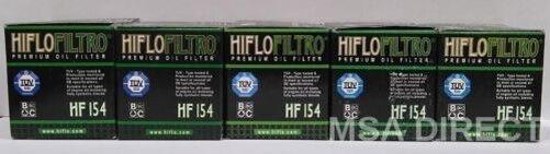 Husqvarna TC 510 (2005 to 2007) HifloFiltro Oil Filter (HF154) x 5 Pack