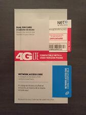 NET10 VERIZON WIRELESS MICRO SIM CARD = UNLIMITED SERVICE NOW $35mo.