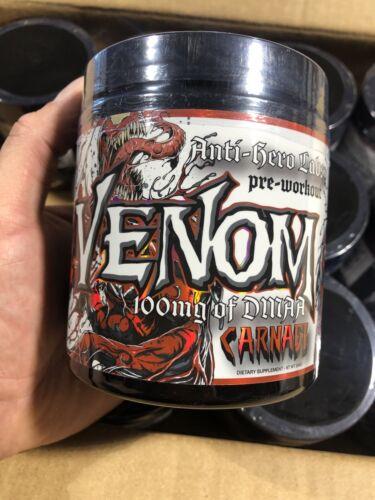 Carnage- NEW-FLAVOR FREE SHIP Venom Pre-workout