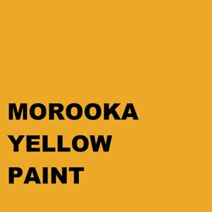 MOROOKA DUMPER YELLOW Machinery Enamel Gloss Paint 1lt Brush or Spray 1000ml