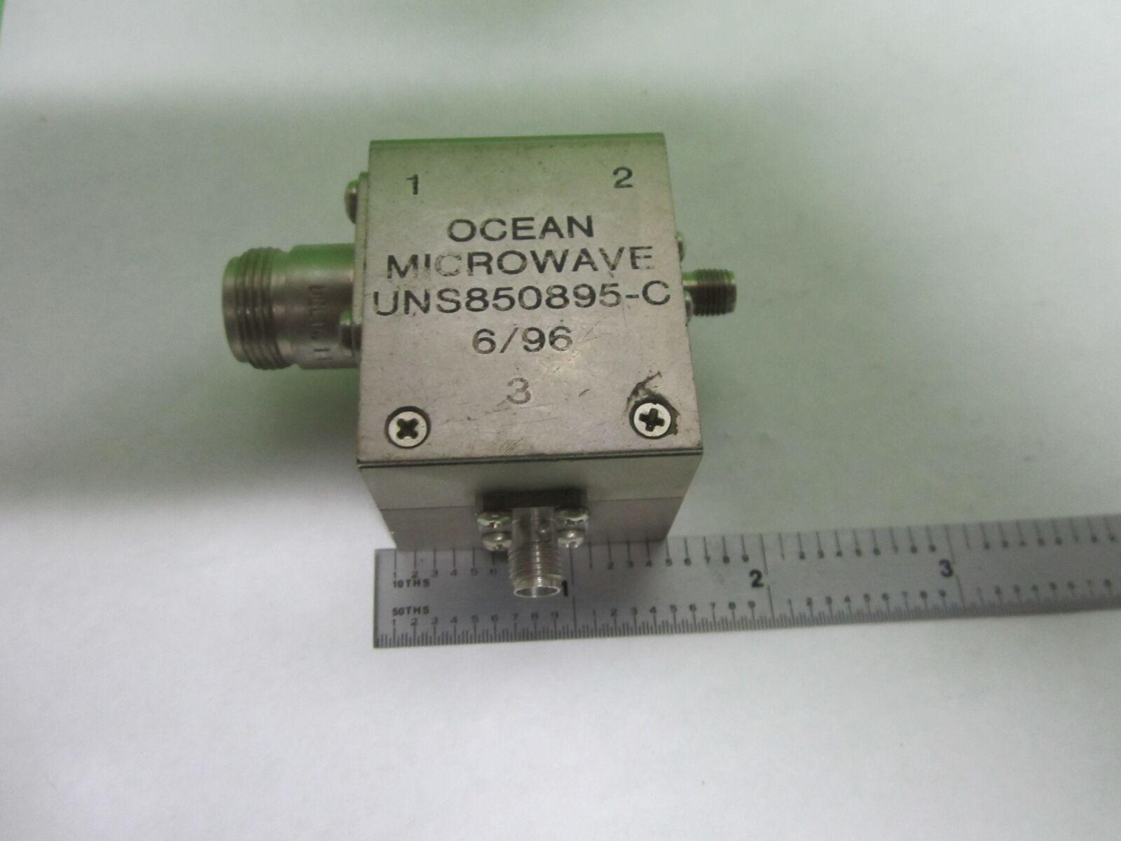 RF Microwave Ocean Microwave N to SMA??? frequency as is BIN #s8