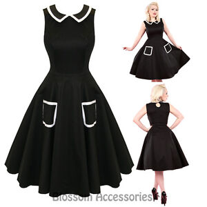 RKH60-Hearts-and-Roses-H-amp-R-Audrey-Rockabilly-Formal-Evening-Dress-50s-Retro-Plus