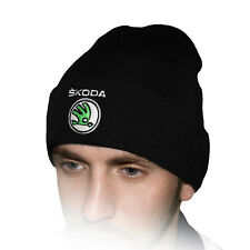 52dca1df item 7 Skoda Beanie Hat Embroidered Auto Logo Winter Warm Knit Baseball Cap  Mens Womens -Skoda Beanie Hat Embroidered Auto Logo Winter Warm Knit  Baseball ...