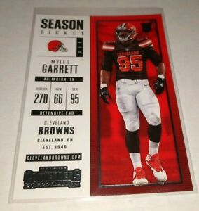MYLES-GARRETT-CLEVELAND-BROWNS-2017-PANINI-CONTENDERS-ROOKIE-RC-CARD-NUMBER-44