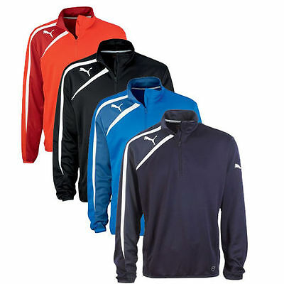Puma Spirit Mens Half Zip Football Training Jacket Top Range 4 colour UK | eBay