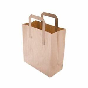 SumaSACCHETTI CARTA RICICLATA Marrone500 Bags