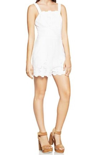 Sz Bcbgeneration Tag Overall B2967 Embroidered With Lace 138 2 New Romper nzFqAPxBt