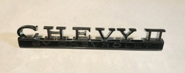 1968 Chevrolet Chevy II / Nova TRUNK Emblem Badge 68