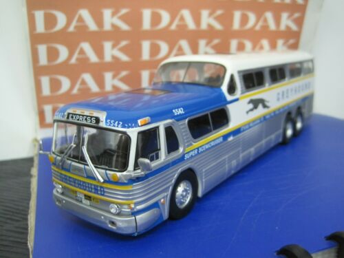 Die cast 1//43 Modellino Pullman Autobus Greyhound Scenicruiser USA 1956