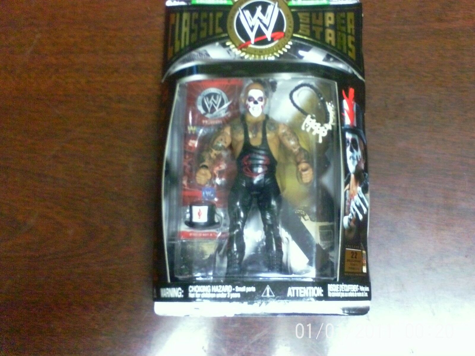 WWE CLASSIC SUPERSTARS PAPA SHANGO