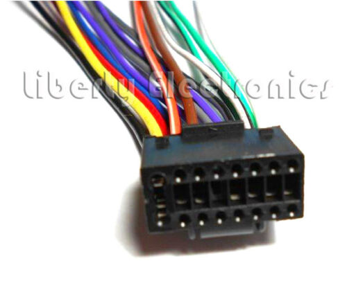 KD-A315 NEW CAR STEREO WIRE WIRING HARNESS for JVC KD-A305